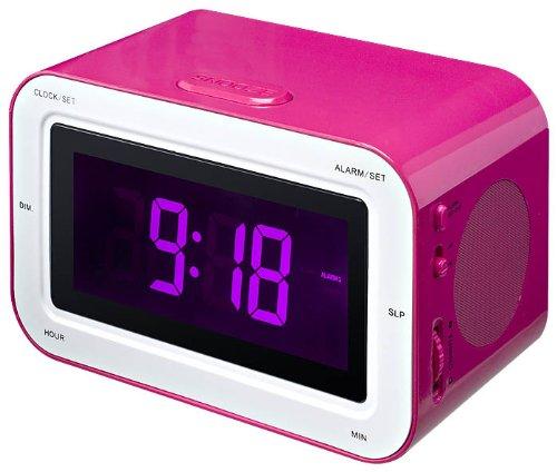 réveil lilikim kid sleep clock rose