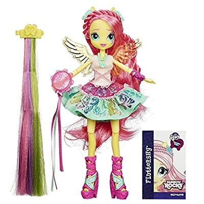My Little Pony Equestria Girls Rainbow Rocks Fluttershy Rockin' Hairstyle Doll by My Little Pony
