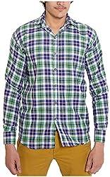 Oshano Men's Casual Shirt (OSH_012_m, Multi-Coloured, m)