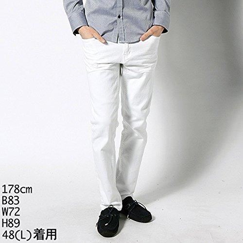 MKオム(MK homme) パンツ(ホワイトデニムパンツ)【ホワイト/46(M)】