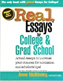 img - for Real Essays for College and Grad School (Real-Resumes) book / textbook / text book