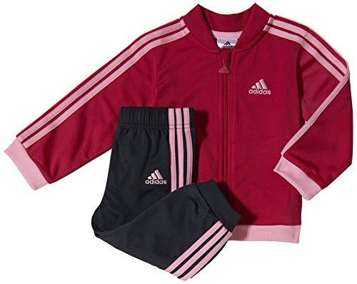 Adidas Baby Trainingsanzug I J Knit PES Mehrfarbig Rosa/Grau Size 98