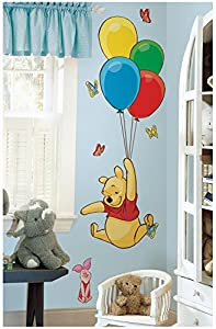 Roommates Pooh And Friends Peel & Stick Wall Decal by York Wallcoverings