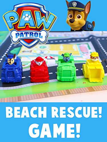 Paw Patrol Beach Cruiser Game Toy Unboxing