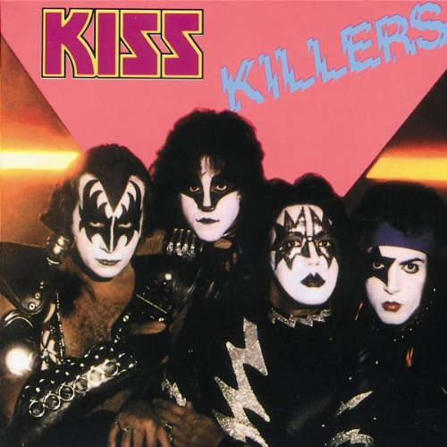 Original album cover of Killers by Kiss