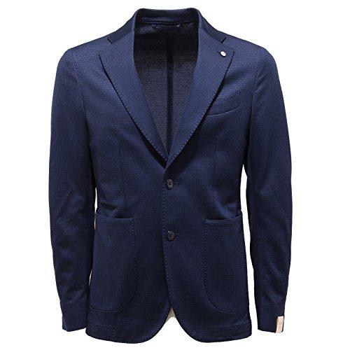 2265Q giacca uomo L.B.M. 1911 DANDY blu jacket men [48-R]