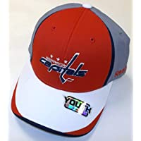 NEW Washington Capitals Pro Shape Flexfit Reebok HAT - Size Youth 4 - 7 YRS - TT73B