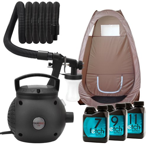 Maximist Lite Spray Tan Hvlp Machine Fetch Dha Sunless Tanning Brown Tent Kit 1A front-775682
