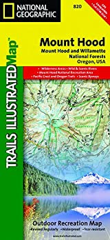 TI Map #820- Mount Hood, Mount Hood & Willamette National Forests