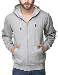 Scott Sweat Shirt With Zip Back Rich Cotton Raised Fabric With Hood Jackets