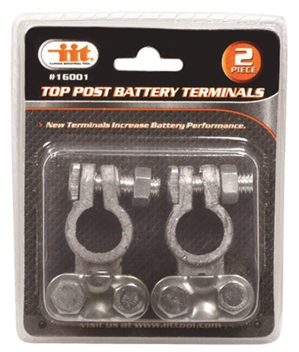 IIT 16001 Top Post Battery Terminals, 2-Piece