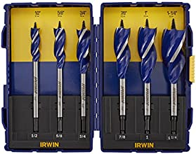 Irwin Industrial Tools 3041006 Speebor Max Spade Bit Set, 6-Piece