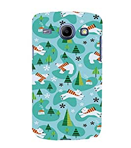 printtech Cool Bear Design Abstract Back Case Cover for SAMSUNG Galaxy J7 - 6 (New 2016 Edition)