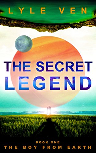 Zack Disor, the boy from Earth, discovers he has devastating powers in the world of Zajitar and must try to find a way home before he destroys everything.  The Secret Legend: Book 1 – The Boy from Earth by Lyle Ven
