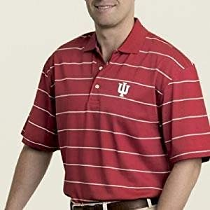 Indiana Hoosiers Tommy Hilfiger Challenge Polo by SportShack INC