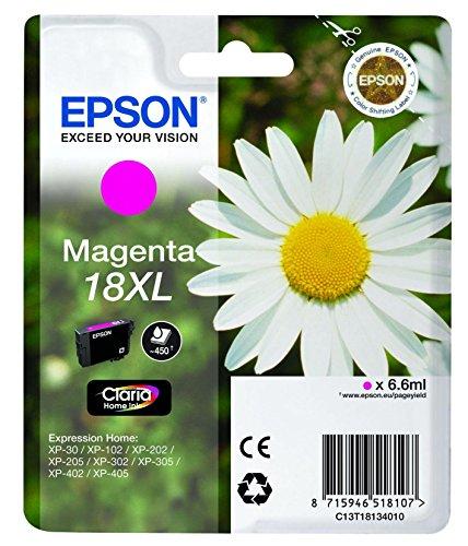 Epson-T1816-Gnseblmchen-Claria-Home-Tinte-Text-und-Fotodruck-Multipack-4-farbig-CYMK