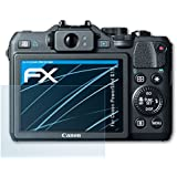 3 x atFoliX Screen Protection Film Canon PowerShot G15 Screen Protector - FX-Clear crystal clear
