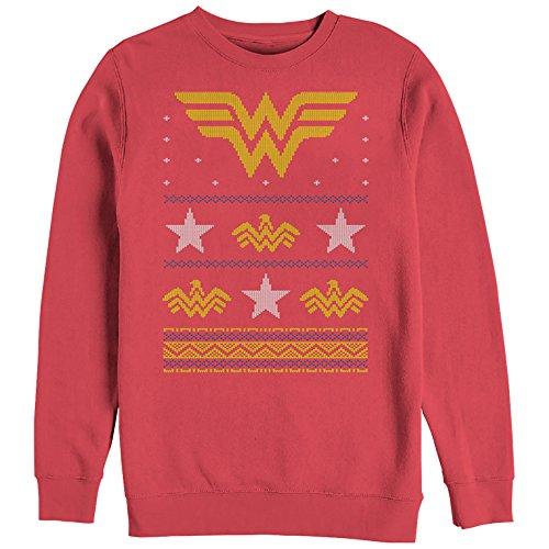 Wonder Woman Ugly Christmas Sweatshirt