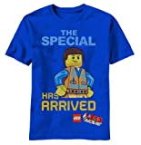 Lego Movie Emmet Special Youth Royal Blue T-Shirt, 5/6