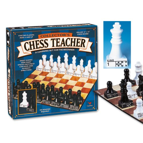 Chess Teacher (styles may vary) (Chess Teacher Board Game compare prices)