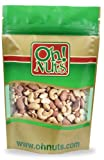 Mixed Nuts Raw, Cashews, Walnuts, Brazil Nuts, Hazelnuts, Almonds, - Oh! Nuts