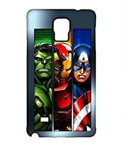 Block Print Company Avengers Angst Phone Cover for Samsung Note 4