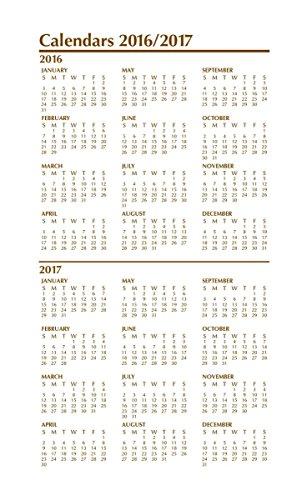 World Calendar Organization : Weekly pocket planner gift set with notepad gold