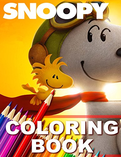 Snoopy Coloring Book Great Book for Kids [Books, Paradise] (Tapa Blanda)