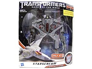 Transformers - Dark of the Moon Decepticon Starscream - incl. Comic Book