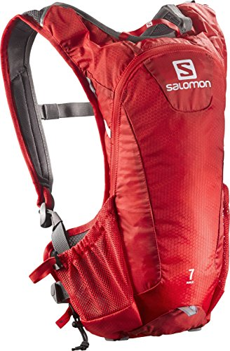 Salomon ZAINO Agile, Bright Red/White, 44 x 21 x 12 cm, 5 litri, L38003400