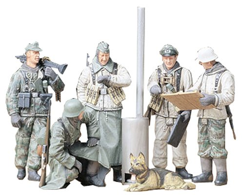 Tamiya 1/35 German Soldiers at Field Briefing - 1