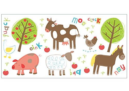 Fun4Walls Ws40264 Farm Multi Wall Stickers front-377257