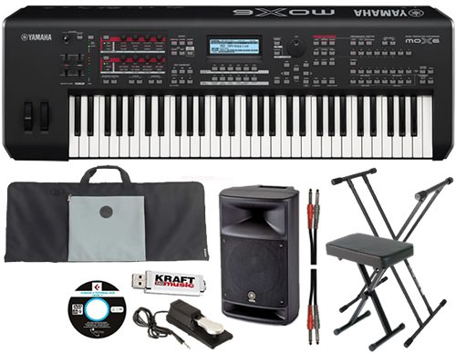 Synthesizers Workstations Online  Yamaha MOX6 61 Key Workstation