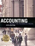 Accounting: What the Numbers Mean w/ Student Study Resource: Study Outline/Ready Notes/Solutions to Odd Number Problems&Net Tutor Package (0072478543) by Marshall, David