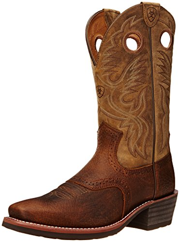 Ariat Men's Heritage Roughstock Western Cowboy Boot, Earth/Brown