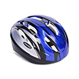 #10: YONKER Cycling Helmet STEP ONE with Adjuster JUNIOR SIZE , YS-1412 (Blue/Grey)