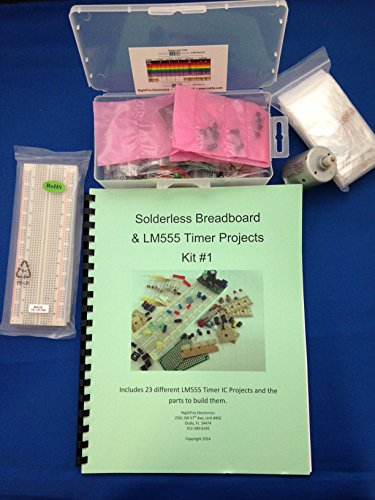 Lm555 Timer Ic Projects Kit #1 With Solderless Breadboard
