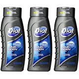 Dial Men Hair And Body Wash Hydro Fresh 21 Ounce (Pack Of 3)