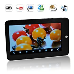 7 Inch Android MID with Wifi, Bluetooth, Hdmi-out and Trackball