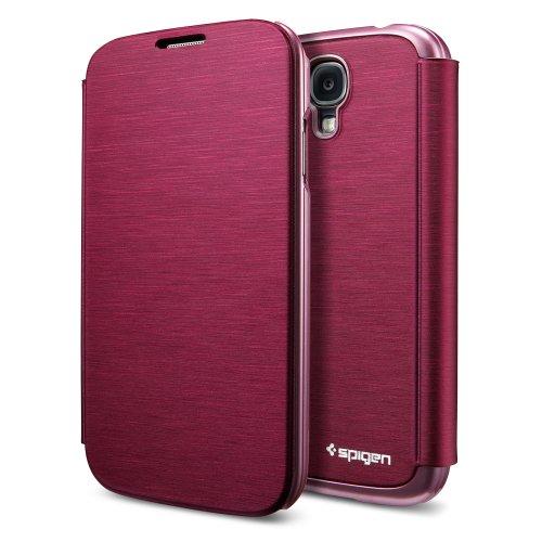 国内正規品SPIGEN SGP Galaxy S4 ケース ウルトラ フリップ [メタリック・レッド]SGP10270