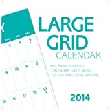 2014 Large Grid Wall Calendar