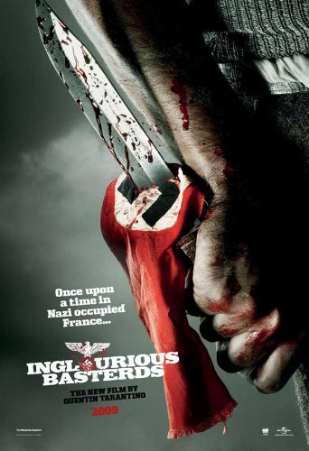 (27x40) Inglourious Basterds - Bloody Knife Movie Poster