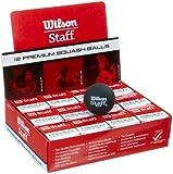 Wilson Staff Squash Balls - Red