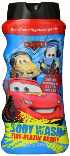 Disney Cars Body Wash, 16 Ounce