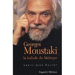Georges Moustaki : La ballade du Métèque