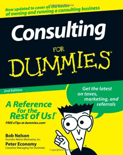 Consulting For Dummies PDF