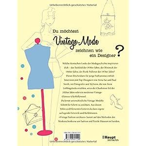 Vintage Fashion zeichnen: Modezeichnen Schritt für Schritt