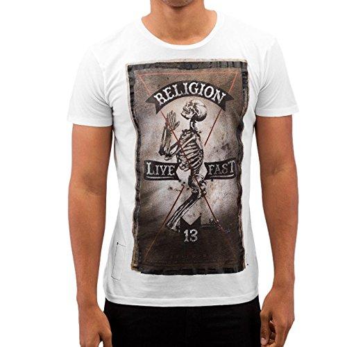 Religion -  T-shirt - Maniche corte - Uomo bianco L