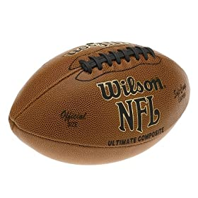 <b>Wilson F1845 NFL Ultimate Composite Game Football (Official Size)</b>