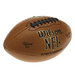 Buy Wilson F1845 NFL Ultimate Composite Game Football (Official Size) by Wilson